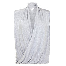 Buy DKNY Layered Pyjama Top, Grey Online at johnlewis.com