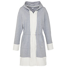Buy DKNY Hooded Sleepshirt, Grey Online at johnlewis.com