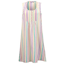 Buy John Lewis Seersucker Nightdress, Multi Online at johnlewis.com