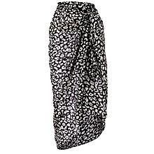 Buy John Lewis Animal Print Sarong, Multi Online at johnlewis.com