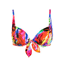 Buy Seafolly Festival Booster Bikini Top, Multi Online at johnlewis.com