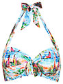 Seafolly South Pacific Halterneck Bikini Top, Blue