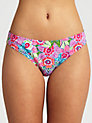 Buy John Lewis Tribal Floral Bikini Briefs, Multi, 8 Online at johnlewis.com