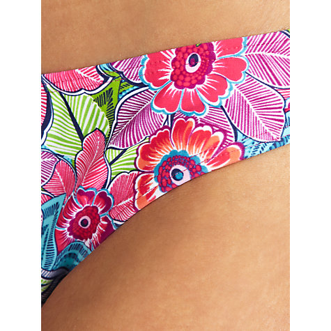 Buy John Lewis Tribal Floral Bikini Briefs, Multi Online at johnlewis.com