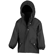 Buy School Unisex Padded Jacket, Black Online at johnlewis.com