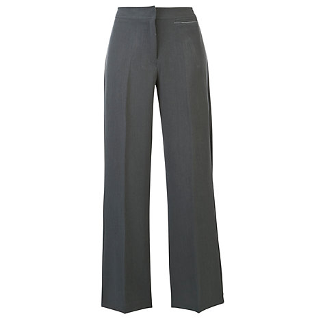 Girls Grey School Trousers