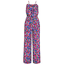 Buy Derhy Ditsy Floral Print Jumpsuit, Rose Online at johnlewis.com