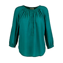 Buy Pyrus Button Embroidered Sleeve Blouse Online at johnlewis.com