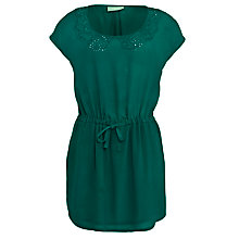 Buy Pyrus Cutwork Embroidered Sleeveless Dress, Jade Online at johnlewis.com