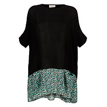 Buy Pyrus Animal Print Trim Tunic Top, Tyler Print Online at johnlewis.com