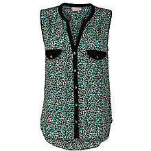 Buy Pyrus Printed Sleeveless Shirt, Tyler Print Online at johnlewis.com