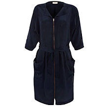 Buy Pyrus Zip Up Pocket Dress, Petrol Online at johnlewis.com