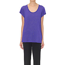 Buy Whistles Foil Seam Back T-Shirt Online at johnlewis.com