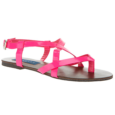Buy Collection WEEKEND by John Lewis Franz Strappy Flat Sandal Online at johnlewis.com