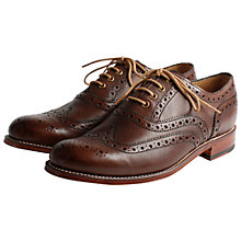 Buy Grenson William Leather Brogue Shoes Online at johnlewis.com