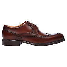 Buy Geox Carnaby Leather Brogue Oxford Shoes Online at johnlewis.com