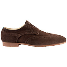 Buy Geox Yale Suede Brogue Shoes Online at johnlewis.com