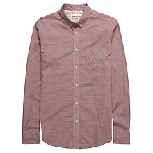 Buy Ben Sherman Mini Mod Checked Long Sleeve Shirt, Blue Depths Online at johnlewis.com