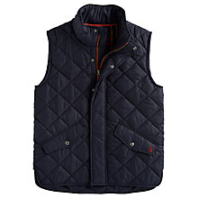 Buy Joules Fieldmore Quilted Gilet, Navy Online at johnlewis.com
