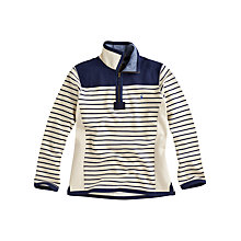 Buy Joules Fletcher Stripe Jumper, Cream Online at johnlewis.com