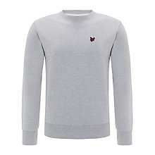 Buy Lyle & Scott Carmelo Crew Neck Jumper, Light Grey Marl Online at johnlewis.com