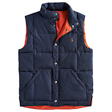 Buy Joules Kelmarsh Gilet, Navy Online at johnlewis.com