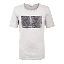 Buy Diesel T-Snake Logo Short Sleeve T-Shirt Online at johnlewis.com