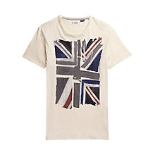 Buy Ben Sherman Union Jack T-Shirt Online at johnlewis.com