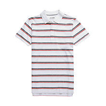 Buy Ben Sherman Pique Striped Polo Shirt Online at johnlewis.com