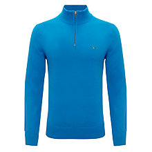 Buy Tommy Hilfiger Atlantic Zip Neck Jumper Online at johnlewis.com