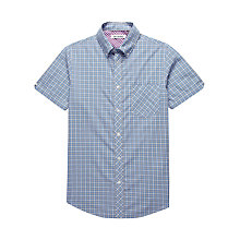 Buy Ben Sherman Mini Mod Checked Short Sleeved Shirt Online at johnlewis.com