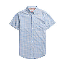 Buy Ben Sherman Gingham Checked Short Sleeved Shirt Online at johnlewis.com
