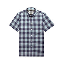 Buy Ben Sherman Chunky Gingham Checked Short Sleeved Shirt Online at johnlewis.com