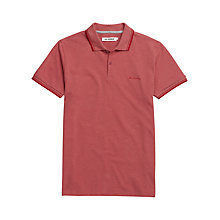 Buy Ben Sherman Stretch Pique Polo Shirt, Paradise Marl Online at johnlewis.com