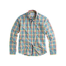 Buy Joules Weaver Check Shirt, Mustard Online at johnlewis.com