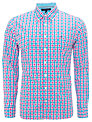 Tommy Hilfiger Multi Check Shirt, Blue/Red