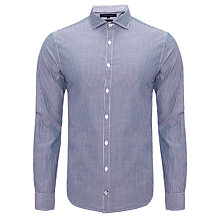 Buy Tommy Hilfiger Andres Stripe Shirt, Blue Online at johnlewis.com