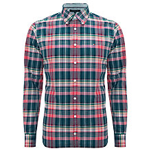 Buy Tommy Hilfiger Kell Check Shirt, Blue/Red Online at johnlewis.com
