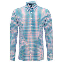 Buy Tommy Hilfiger Hayward Check Shirt, Blue/Red Online at johnlewis.com