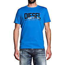 Buy Diesel Life Logo Short Sleeve T-Shirt Online at johnlewis.com