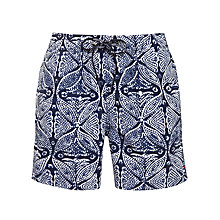 Buy Tommy Hilfiger Goa Tribal Print Swim Shorts Online at johnlewis.com