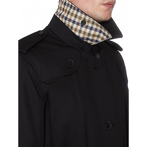 Buy Aquascutum Corby Single Breasted Raincoat Online at johnlewis.com