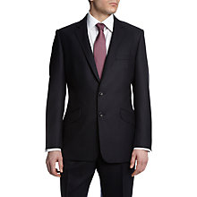 Buy Aquascutum Herringbone Suit, Navy Online at johnlewis.com