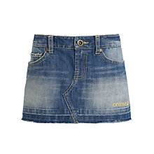 Buy Animal Kipp Denim Skirt, Blue Online at johnlewis.com