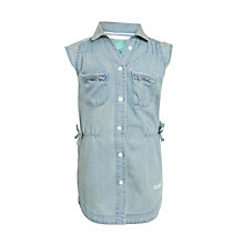 Buy Animal LitteOwl Shirt Dress, Chambray Online at johnlewis.com