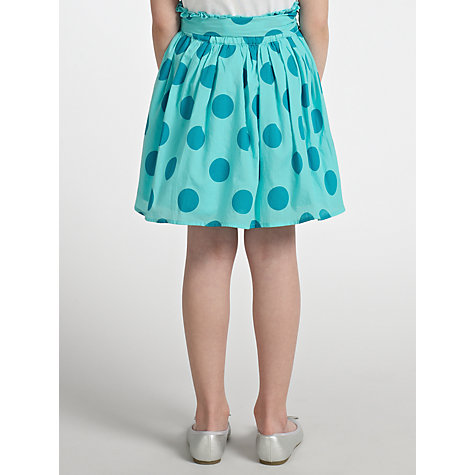 Buy John Lewis Girl Bold Spot Skirt Online at johnlewis.com