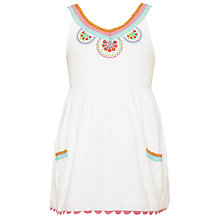 Buy John Lewis Girl Embroidered Swing Top Online at johnlewis.com