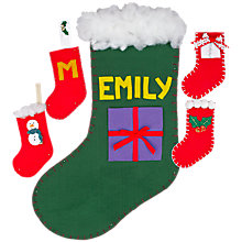 Buy Make Your Own Christmas Stockings Online at johnlewis.com