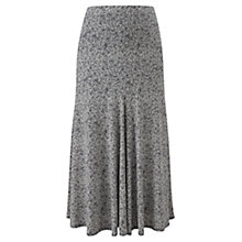 Buy Viyella Graphic Daisy Print Skirt, Navy Online at johnlewis.com