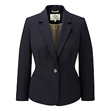 Buy Viyella Textured Blazer, Navy Online at johnlewis.com